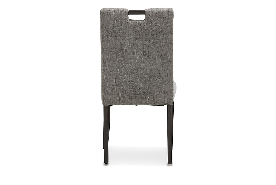 Incredible Waverly Gray Upholstered Side Chair Dining Room Chairs Alphanode Cool Chair Designs And Ideas Alphanodeonline