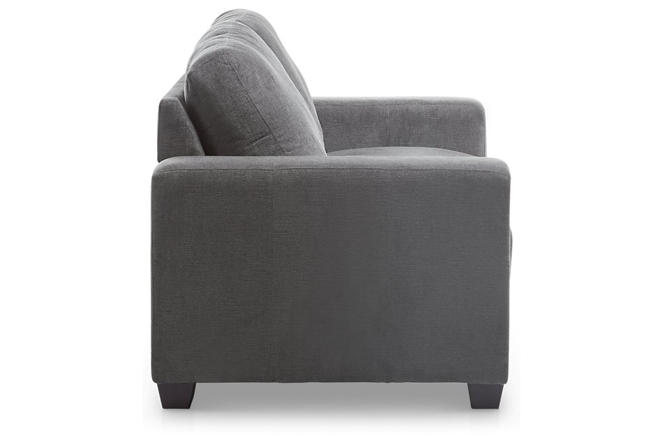 Estelle Dark Gray  Fabric Sofa