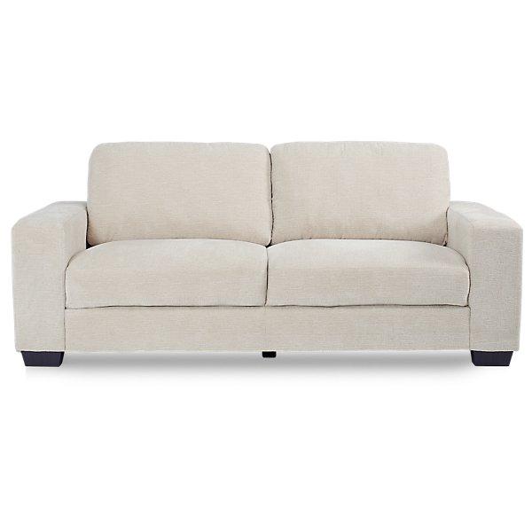 Image Of Estelle Beige Fabric Sofa With Sku 330082