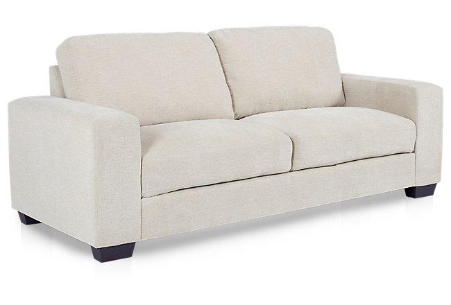 Estelle Beige Fabric Sofa