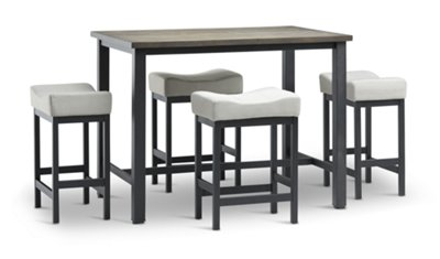 Superieur Roland Light Tone Table U0026 4 Stools | Dining Room   Dining Sets | City  Furniture