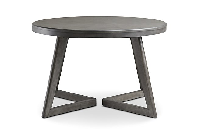 Wood Round Table.Dining Room Tables Glass Bar Height More City Furniture