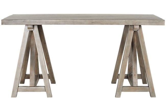 Sonoma Light Tone Wood Desk