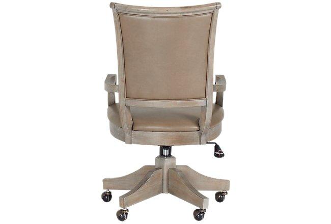 Sonoma Light Tone Upholstered Desk Chair