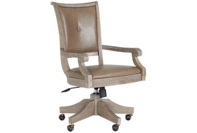 Phenomenal Sonoma Light Tone Upholstered Desk Chair Download Free Architecture Designs Intelgarnamadebymaigaardcom