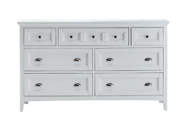 Heron Cove White Wood Dresser