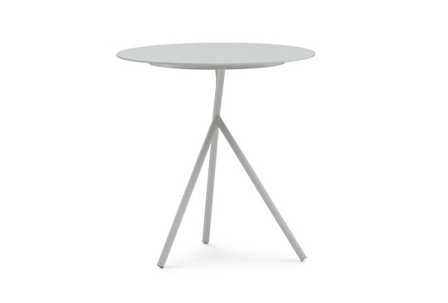 Ibiza White Accent Table