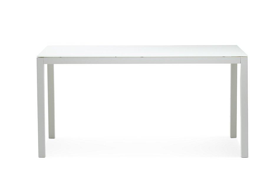 """Lisbon2 White 60"""" Rectangular Table"""