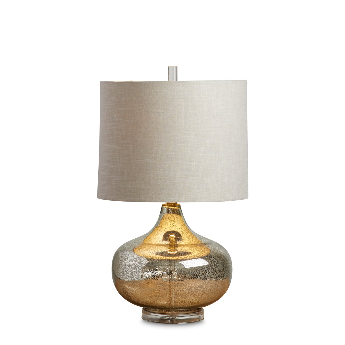 Mason Silver Table Lamp