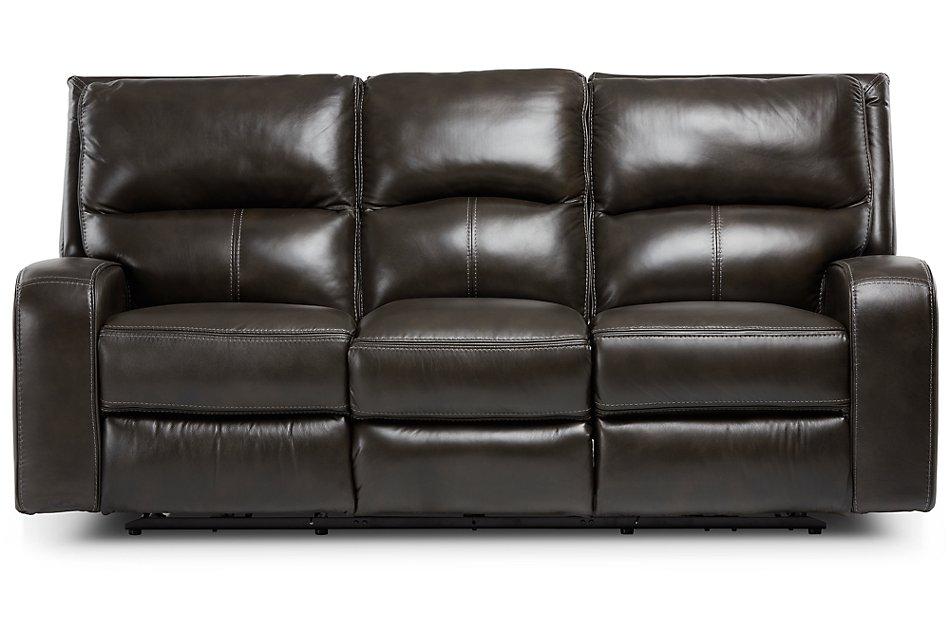 Admirable Declan Dark Brown Lthr Vinyl Power Reclining Sofa Living Pdpeps Interior Chair Design Pdpepsorg