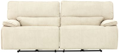 Attrayant Jesse Light Beige Microfiber Power Reclining Sofa