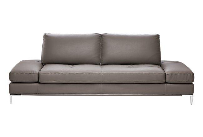 Camden Dark Gray Microfiber Sofa