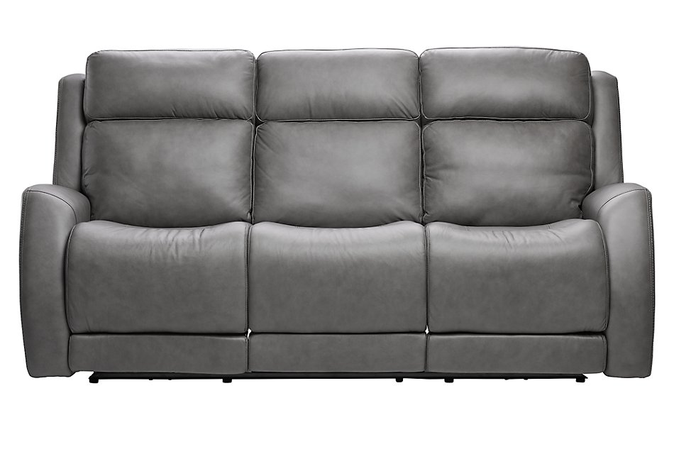 Magnificent Rawlings Dark Gray Leather Power Reclining Sofa Living Pdpeps Interior Chair Design Pdpepsorg