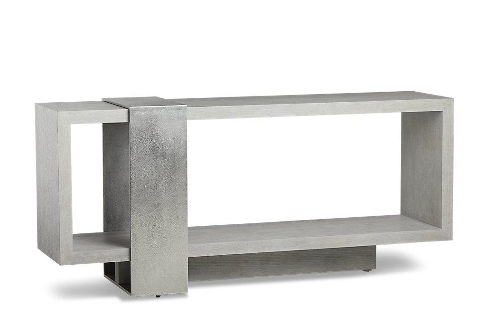 Linea Light Tone Wood Console Table