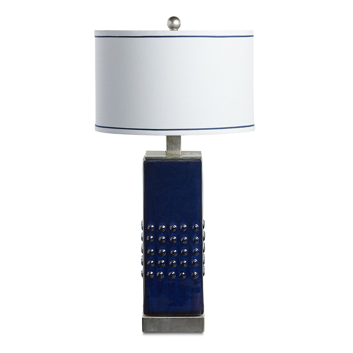 Andrews Dark Blue Table Lamp