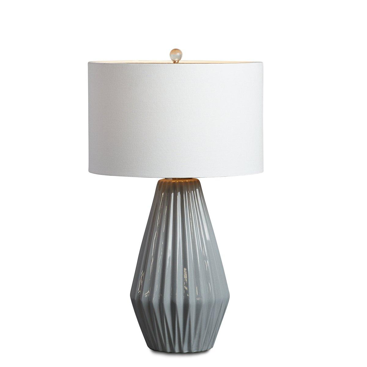 Abner Dark Gray Table Lamp