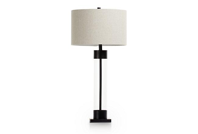 Brannan Bronze Glass Table Lamp