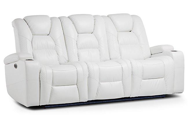 Coaster Sir Rawlinson Coated Microfiber Motion Living Room ...