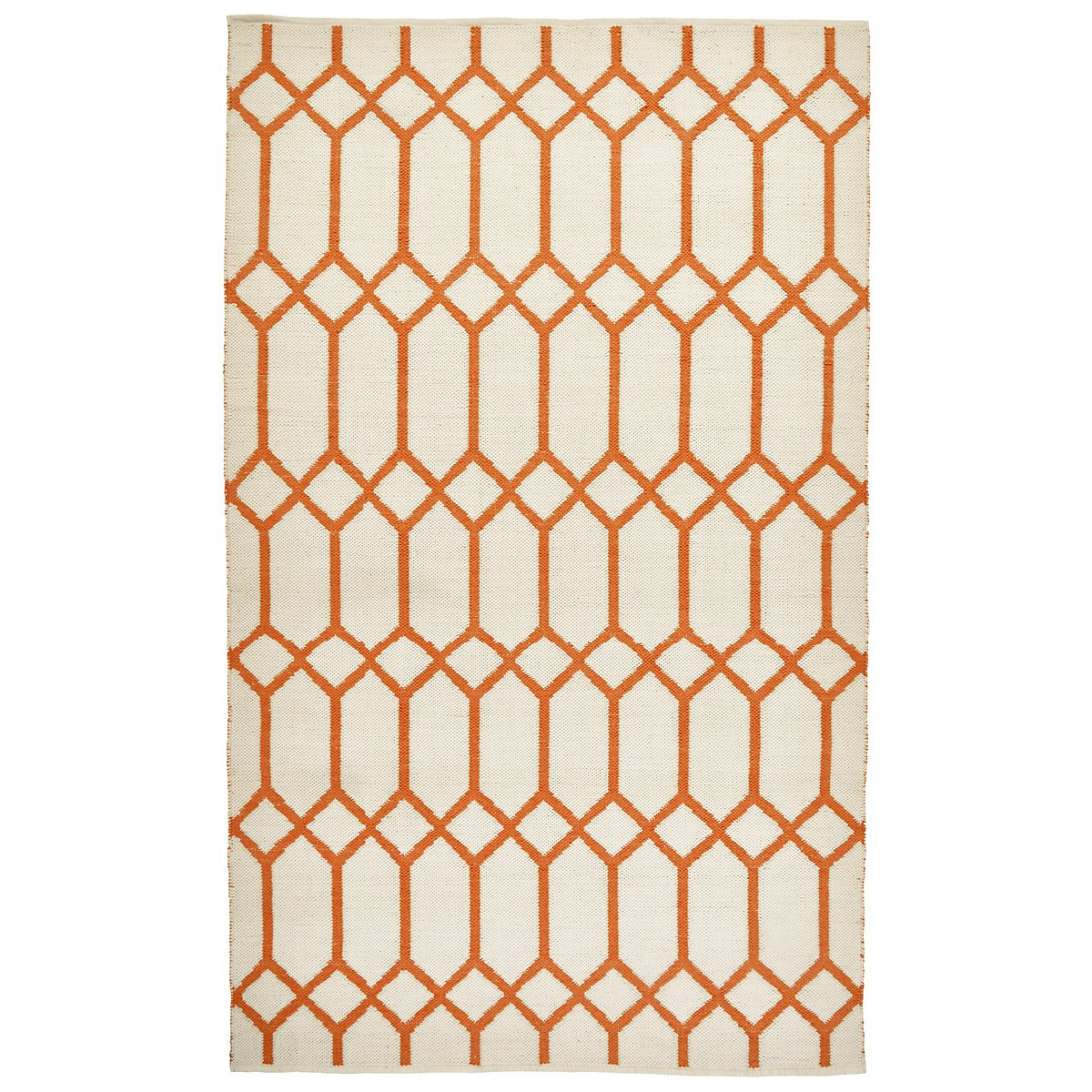 Caro Orange Poly Indoor Outdoor 2x3 Area Rug Rugs City Furniture
