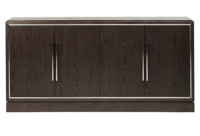 Soho Dark Tone Wood Credenza
