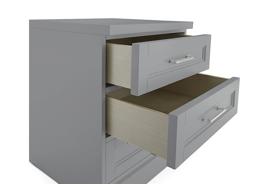 Newport GRAY  Drawer Cabinet
