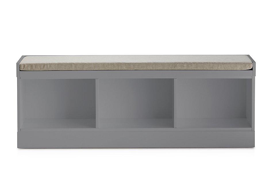 Newport Gray  Bench