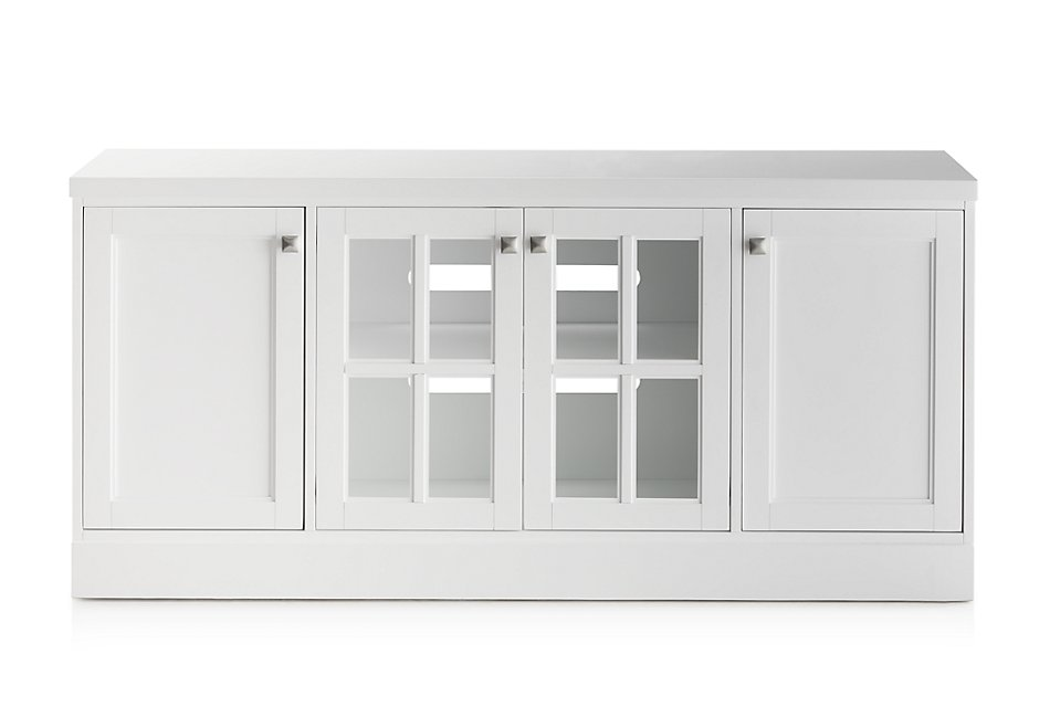 "Newport WHITE 64"" TV Stand"