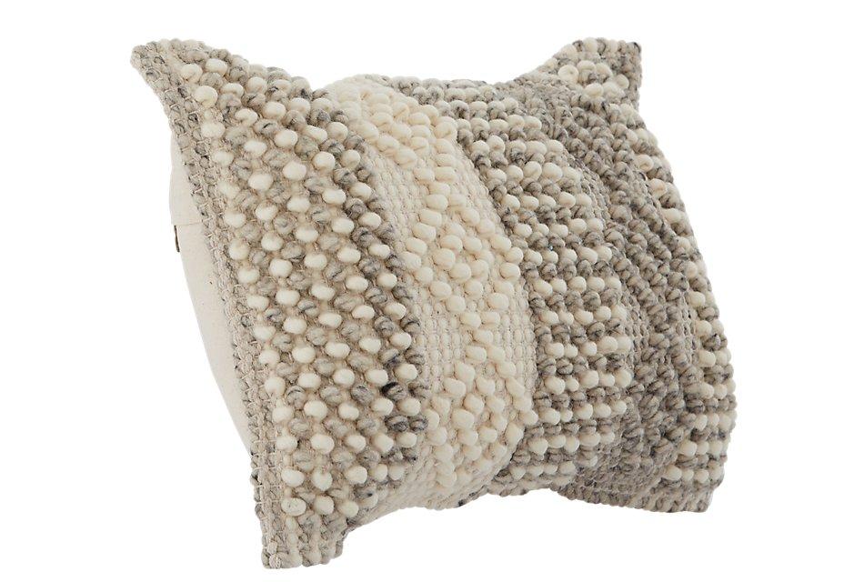 Alexa Gray Accent Pillow