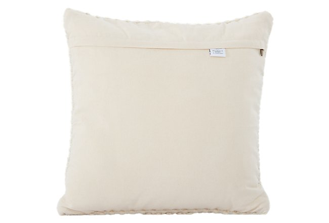 Ellie Ivory Accent Pillow