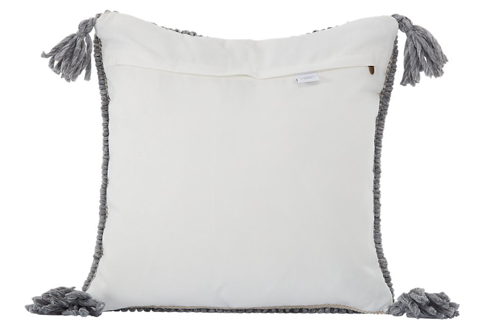 Betsi Gray Accent Pillow