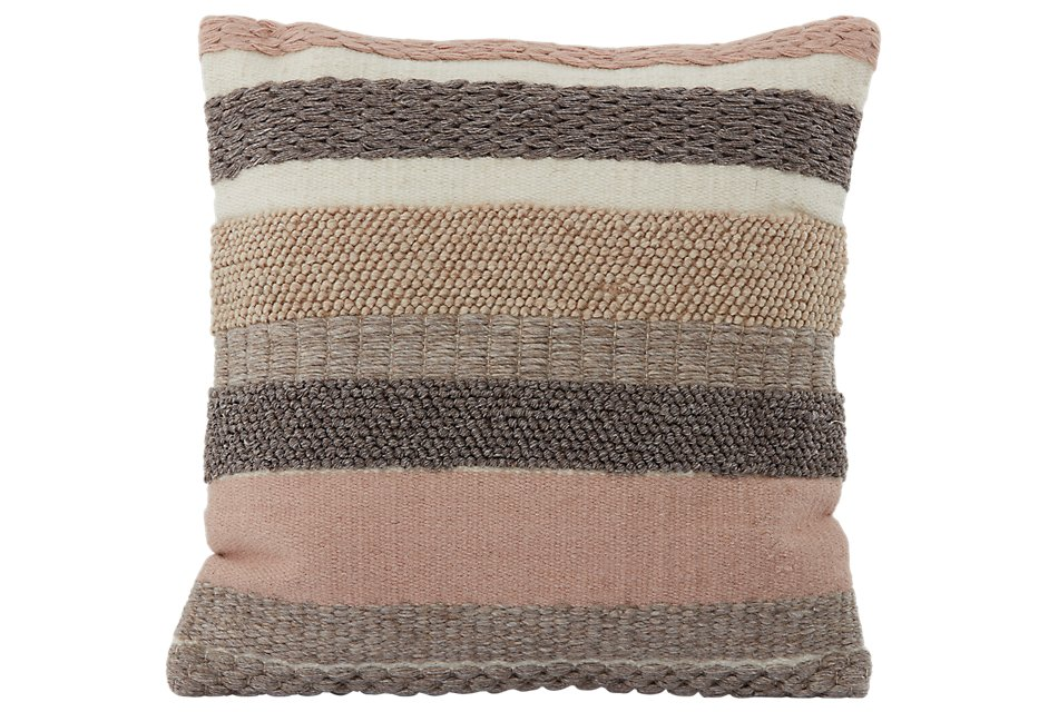 Dasia Light Pink Accent Pillow