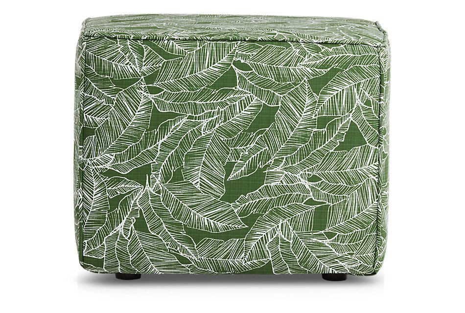 Pacific GREEN  Indoor/Outdoor Accent Ottoman