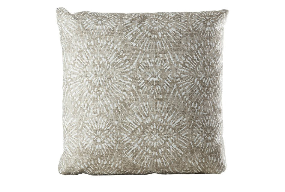"Borneo Gray 20"" Indoor/outdoor Accent Pillow"