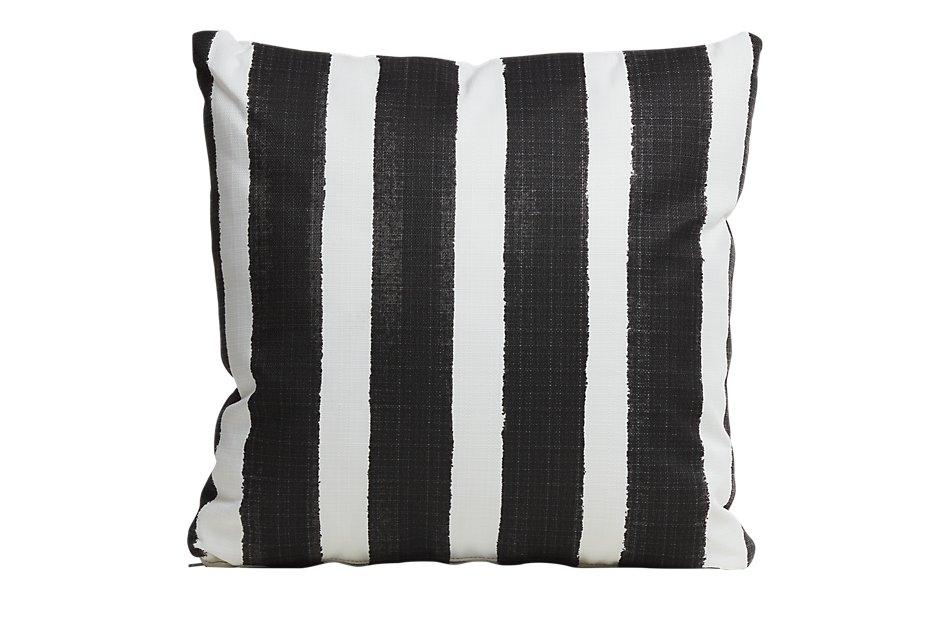 """Nico BLACK 20"""" Indoor/Outdoor Accent Pillow"""
