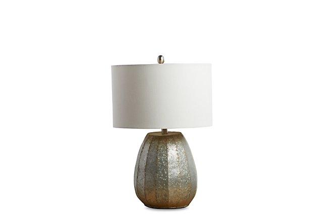 Rhett Silver Table Lamp