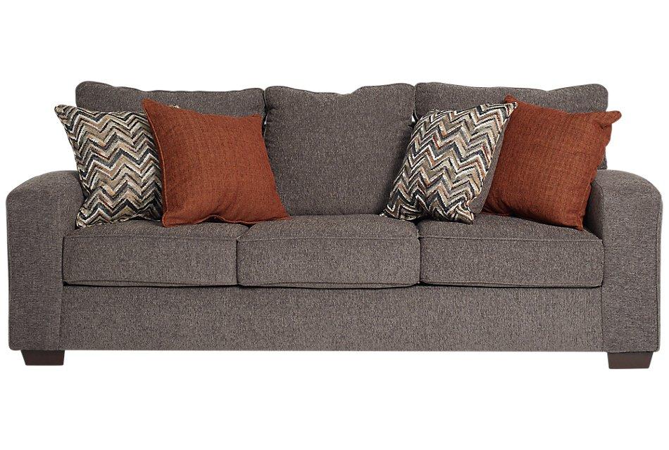 Prime Chase Dark Gray Microfiber Sofa Inzonedesignstudio Interior Chair Design Inzonedesignstudiocom