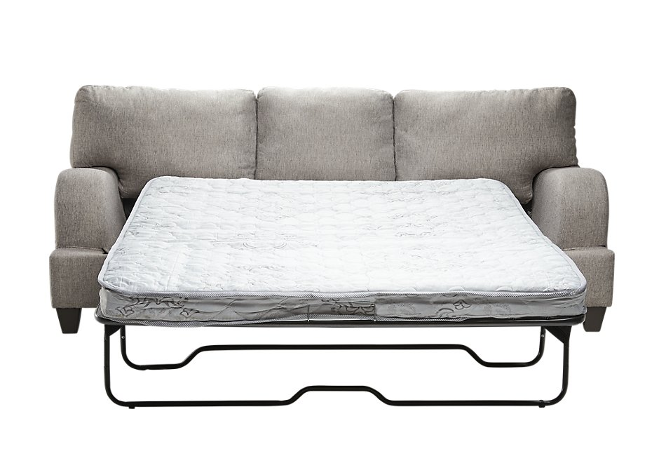 Evelyn Taupe Fabric Sleeper
