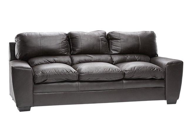 Verona Dark Gray Microfiber Sofa