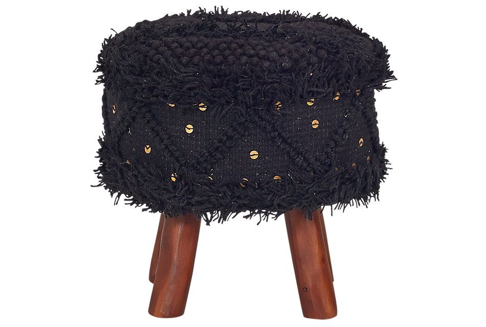 Roja Black  Stool