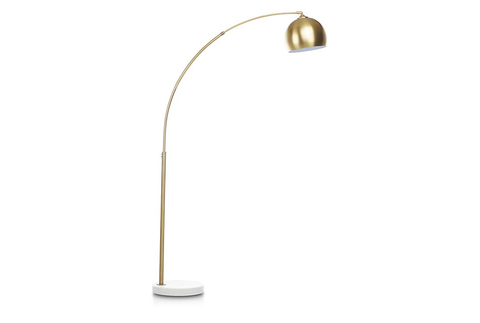 brand new 17269 e5674 Imanni Gold Arc Floor Lamp | Home Accents - Lighting | City ...