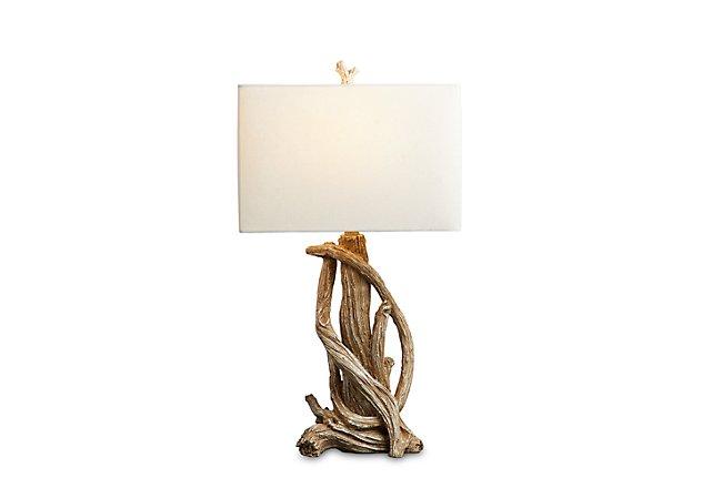 Tangle Light Brown Table Lamp