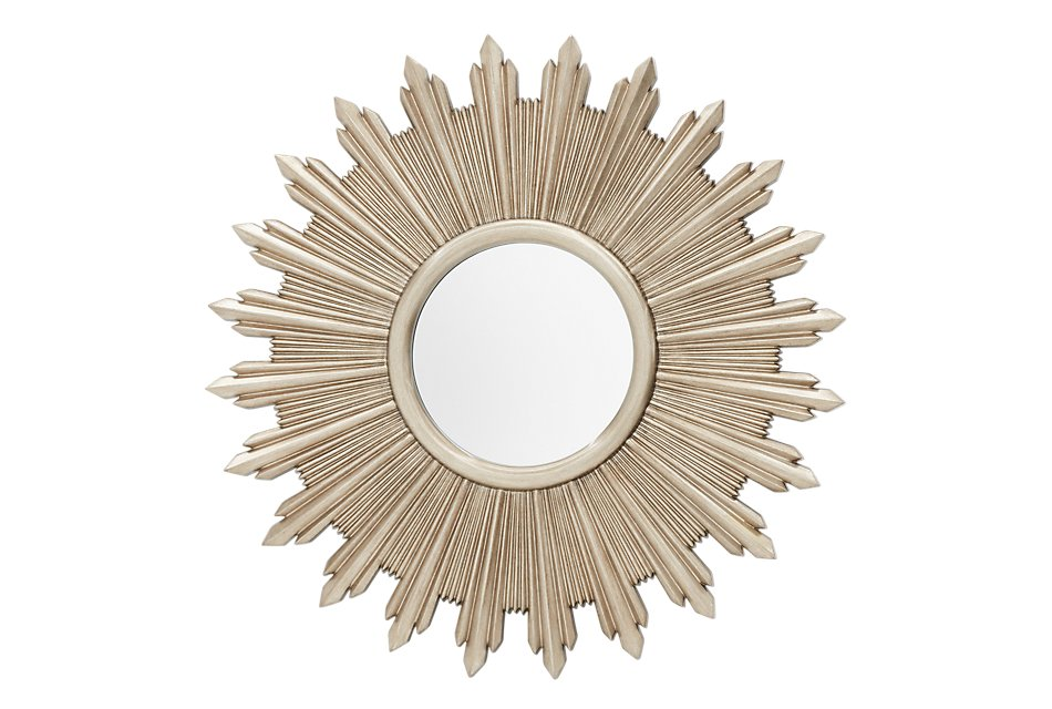 Flare Dark Gold   Mirror