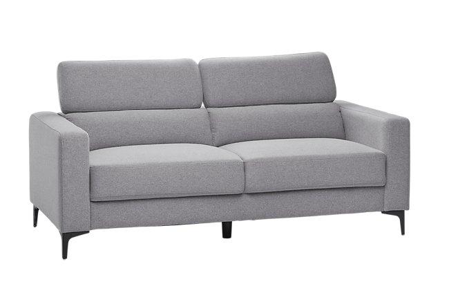 Trenton Light Gray Fabric Sofa