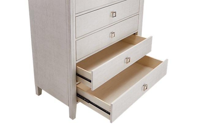 Ashton Ivory Wood 5-drawer Chest