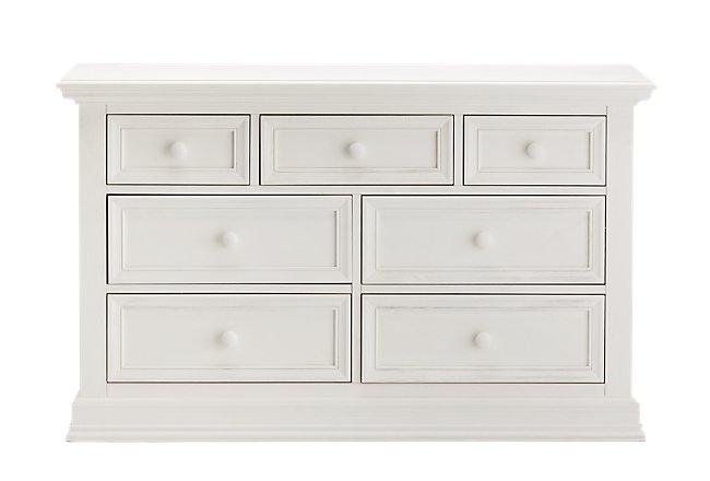 Glenbrook White Wood Dresser