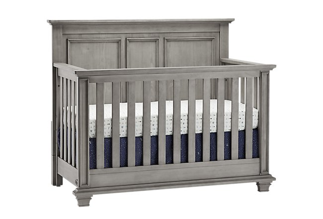 Kenilworth Light Tone Wood 4-in-1 Crib