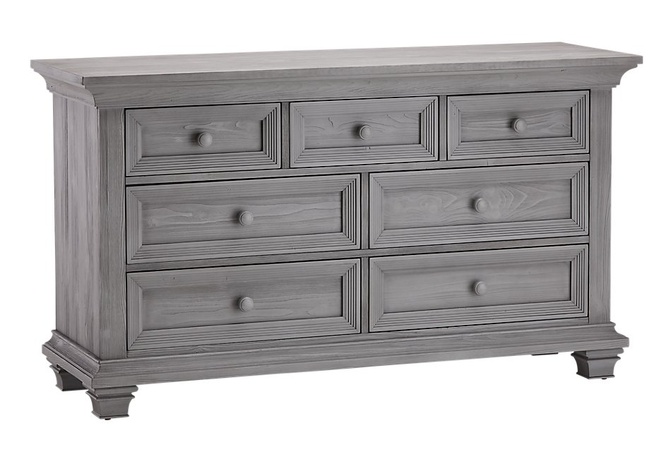 Westport Light Gray   Dresser