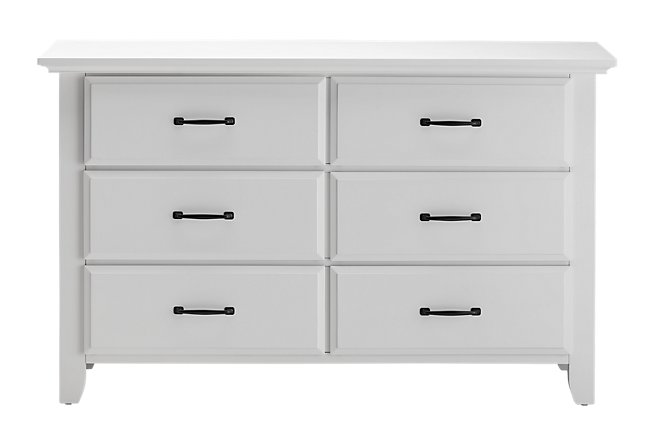 Willowbrook White Dresser