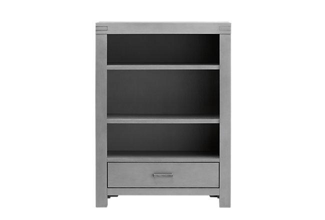 Piermont Gray Wood Bookcase