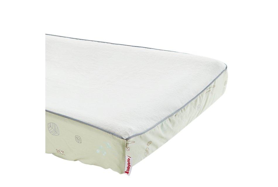 Tranquil Light Green Crib Bedding Set